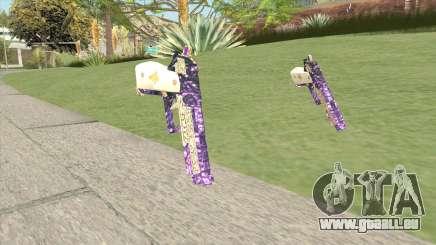 Joker Gun (4K) From Suicide Squad für GTA San Andreas