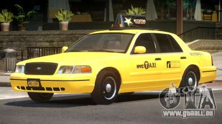 Ford Crown Victoria Taxi V1.2 für GTA 4