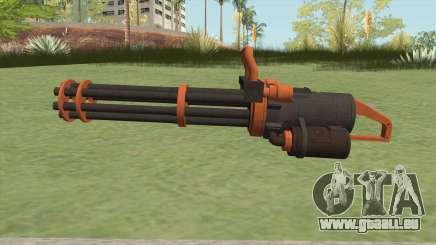 Coil Minigun (Orange) GTA V für GTA San Andreas