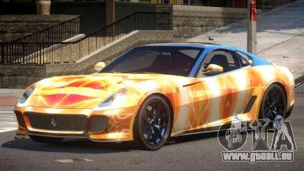Ferrari 599 GTO V1.1 PJ5 pour GTA 4