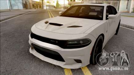 Dodge Charger SRT Hellcat 2019 Low Poly pour GTA San Andreas