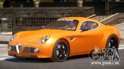 Alfa Romeo 8C V1.0 pour GTA 4
