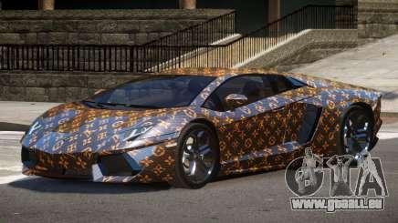 Lamborghini Aventador SS PJ1 pour GTA 4