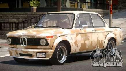 BMW 2002 GT PJ3 pour GTA 4