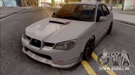 Subaru Impeza WRX STI 2006 pour GTA San Andreas