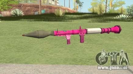 Rocket Launcher GTA V (Pink) pour GTA San Andreas