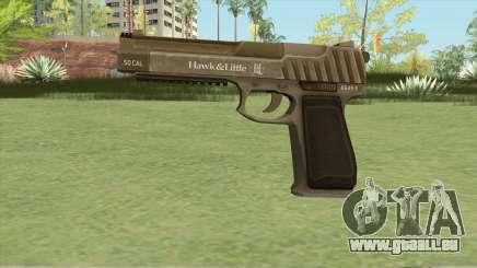 Pistol .50 GTA V (Army) Base V1 pour GTA San Andreas