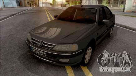 Peugeot Pars with Dashboard ELX pour GTA San Andreas