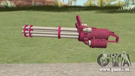 Coil Minigun (Pink) GTA V für GTA San Andreas