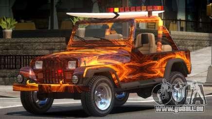 1988 Jeep Wrangler PJ1 pour GTA 4