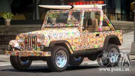 1988 Jeep Wrangler PJ5 pour GTA 4