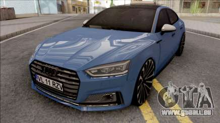 Audi S5 Blue für GTA San Andreas