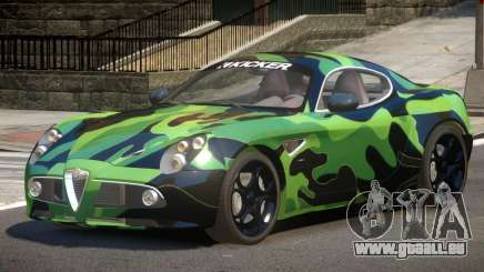 Alfa Romeo 8C V1.0 PJ3 pour GTA 4