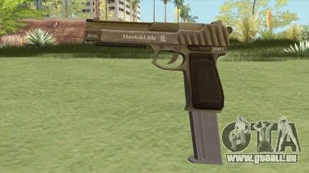 Pistol .50 GTA V (Army) Base V2 pour GTA San Andreas