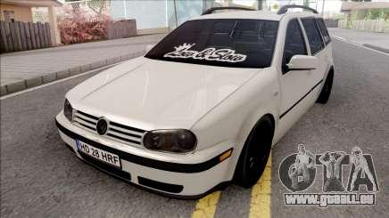 Volkswagen Golf 4 White für GTA San Andreas