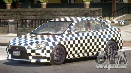 Mitsubishi Lancer X Tuned PJ2 für GTA 4