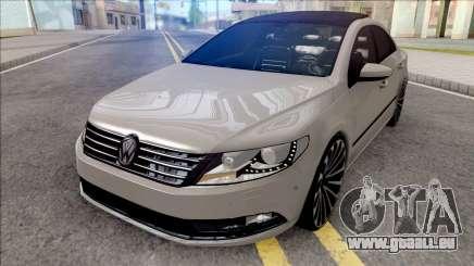 Volkswagen Passat CC Grey pour GTA San Andreas