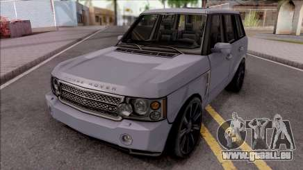 Land Rover Range Rover Superchargered 2008 v1 für GTA San Andreas