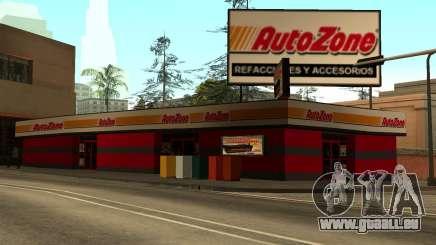 Mexikanische Autozone Store für GTA San Andreas