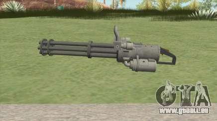 Coil Minigun (OG Black) GTA V für GTA San Andreas