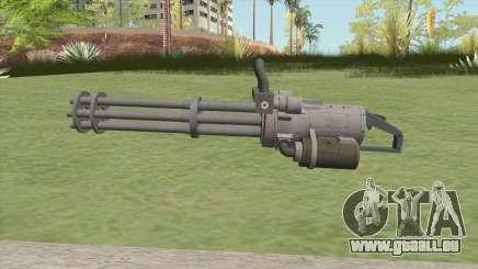 Coil Minigun (Platinum) GTA V für GTA San Andreas