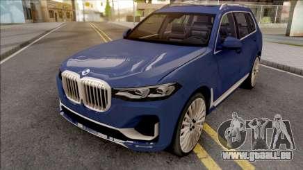 BMW X7 2020 Low Poly für GTA San Andreas