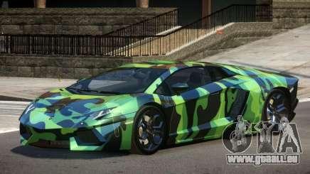 Lamborghini Aventador SS PJ3 pour GTA 4