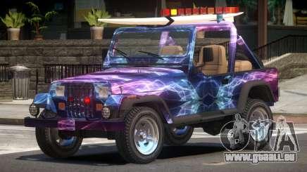 1988 Jeep Wrangler PJ2 pour GTA 4