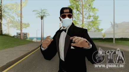 Random Male Skin (Medical Mask) pour GTA San Andreas