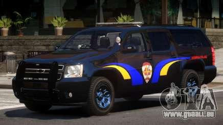Chevrolet Suburban Police V1.1 pour GTA 4