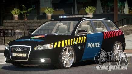 Audi S4 Police V1.0 für GTA 4