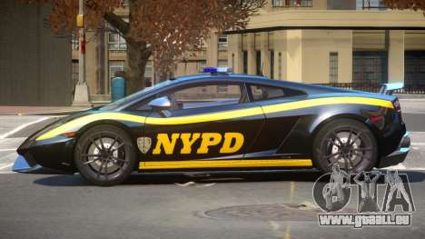 Lamborghini Gallardo Police V1.0 pour GTA 4