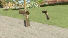 Heavy Pistol GTA V (Army) Flashlight V1 pour GTA San Andreas