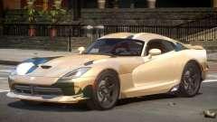 Dodge Viper SRT GTS PJ1 pour GTA 4
