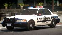 Ford Crown Victoria Police V2.1 pour GTA 4