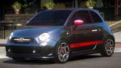 Fiat 500 Abart pour GTA 4