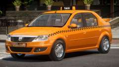 Dacia Logan Taxi V1.0 pour GTA 4