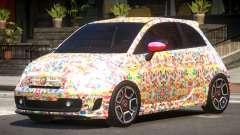 Fiat 500 Abart PJ5 pour GTA 4