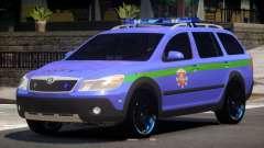 Skoda Octavia Scout Police V1.0 für GTA 4