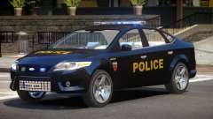 Ford Mondeo ST Police