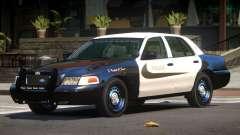 Ford Crown Victoria ST Police V1.0 für GTA 4