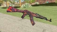 AK-47 (Phantom Disruptor) pour GTA San Andreas