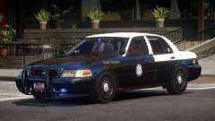 Ford Crown Victoria FS Police V1.1 für GTA 4