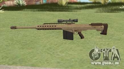 Heavy Sniper GTA V (Army) V3 pour GTA San Andreas