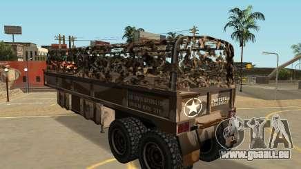 MTL Caserne de la Semi-Remorque pour GTA San Andreas