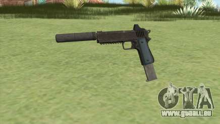 Heavy Pistol GTA V (LSPD) Suppressor V2 pour GTA San Andreas