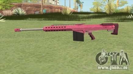Heavy Sniper GTA V (Pink) V2 pour GTA San Andreas