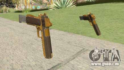 Heavy Pistol GTA V (Gold) Base V2 pour GTA San Andreas