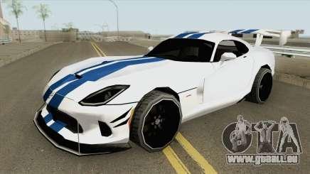 Dodge Viper ACR (Extreme Aero) 2016 pour GTA San Andreas