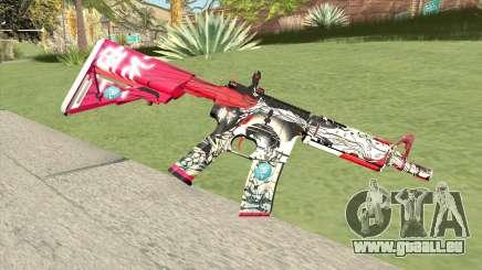 M4A1 (Graffiti) für GTA San Andreas